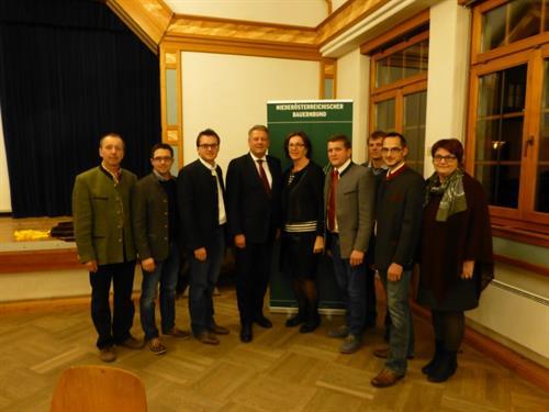 Bundesminister Andrä Rupprechter zu Besuch im Volkshaus St